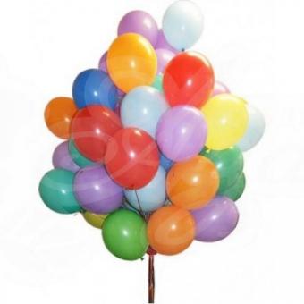 Гелиевые шары 25 шт.
