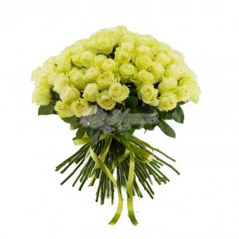 Букет из 85 роз